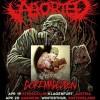 Aborted, Benighted, SCD et Ad Patres en live au Divan du Monde le vendredi 26 avril 2013