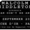 Concours &#8211; Malcolm Middleton  la Flche D&#8217;Or le 15-09-2012 &#8211; 4 places  gagner