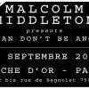 Concours – Malcolm Middleton à la Flèche D'Or le 15-09-2012 – 4 places à gagner