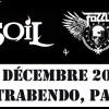 Concours – Gagnez 4 places pour le concert de SOiL et Fozzy au Trabendo le 10 décembre 2012