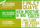 Concours – Gagnez 4 places pour les concerts reggae des 6, 8 et 13 Février 2011 à l'Elysée Montmartre