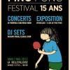 Festival les 15 ans de Ping Pong – Concerts et DJ Set – La Bellevilloise – 07.05.2013