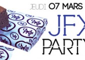 JFX Party – Jeudi 07 mars 2013 au Batofar