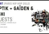 Triptik – Gaiden et Yoshi – En live à la Gaîté Lyrique le 29.06.2012