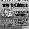 The Subhumans, Attentat Sonore, Bad Influence – La Miroiterie – 15.10.2013