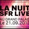 La Nuit SFR – 5e édition le 21 septembre 2013