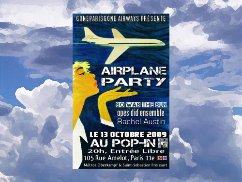 Airplane-Party