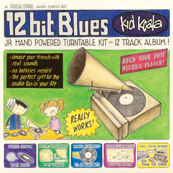 kid koala 12 bit blues Kid Koala   12 bit blues