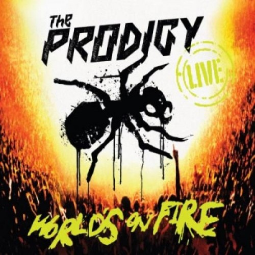 the prodigy worlds on fire 500x500 The Prodigy   Worlds on Fire   DVD Live